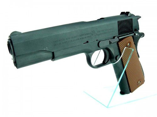 WA U.S.M1911A1 カーボンブラックHW