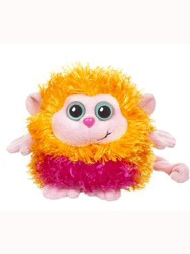 Orange & Pink Monkey Whoorah Friends Plush by Ganz