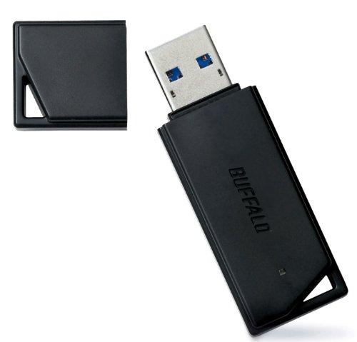 BUFFALO USB3.0対応 USBメモリ バリューモデル 4GB ブラック RUF3-K4GA-BK