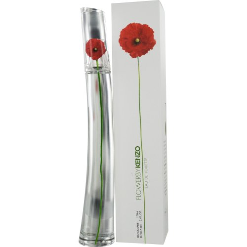 Kenzo Flower, Eau de Toilette ricaricabile da donna, 100 ml