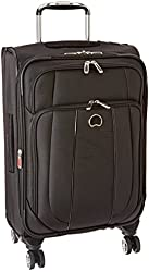 Delsey Luggage Helium Cruise Carry-On EXP Spinner Suiter Trolley