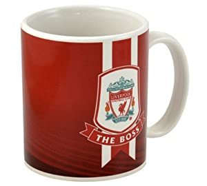 Official Liverpool Fc Crested Ceramic The Boss Mug by HOME WIN limited