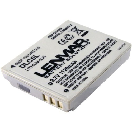 Lenmar Dlc5L Canon Nb-5L Replacement Battery -By-Lenmar