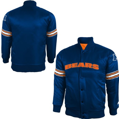 Chicago Bears Youth Starter Satin Jacket Large 14-16 (Satin Starter Jacket compare prices)