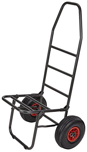 Sackkarre-Trolley-mit-Luftbereifung-ideal-fr-Angler-Schwarz-OneSize