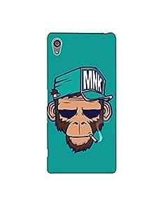 sony z5 plus nkt12r (42) Mobile Caseby Mott2 - Smoking Monkey