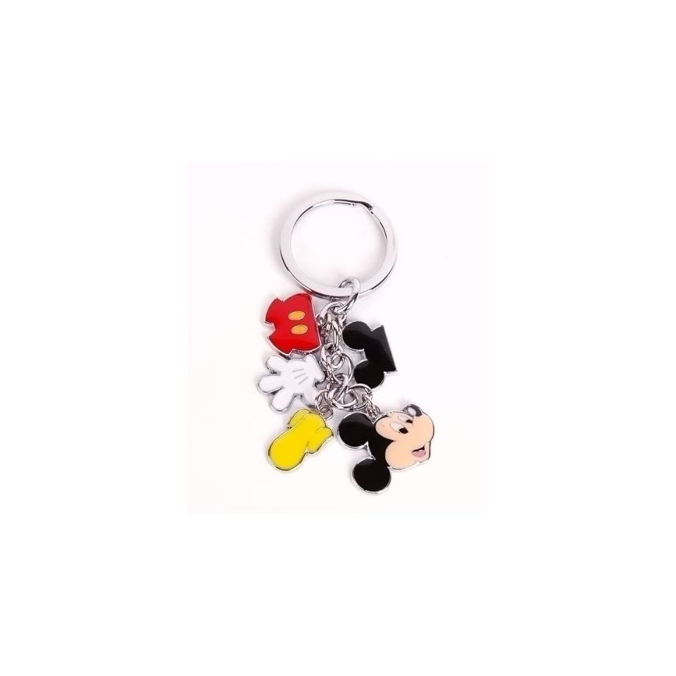 Mickey Mouse Metal Keychain Key Ring Chain Charm Toys & Games