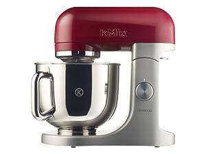 Kenwood KMX 51 Küchenmaschine 500 Watt Softanlauf 2 Zubehöranschlüsse, rot