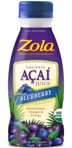 Zola Brazilian Superfruits Acai Juice  Blueberry