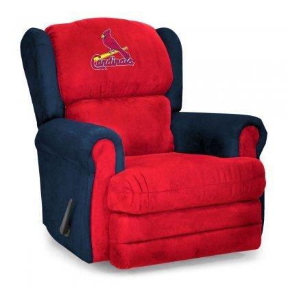 St Louis Cardinals Recliner Cardinals Leather Recliner