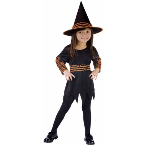 WMU Costume Witch Pumpkin Patch Toddler Large