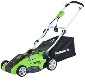 GreenWorks 25142 10 Amp Corded 16 Inch Mower by Sunrise Global Marketing, LLC