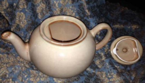Pristine England Teapot - Honey Brown Color
