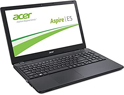 Acer Aspire E5-571G-3166 39,6 cm (15,6 Zoll HD) Notebook (Intel Core i3-4005U, 1,7GHz, 4GB RAM, 1000GB HDD, Nvidia GeForce 820M, DVD, Win 8.1) schwarz
