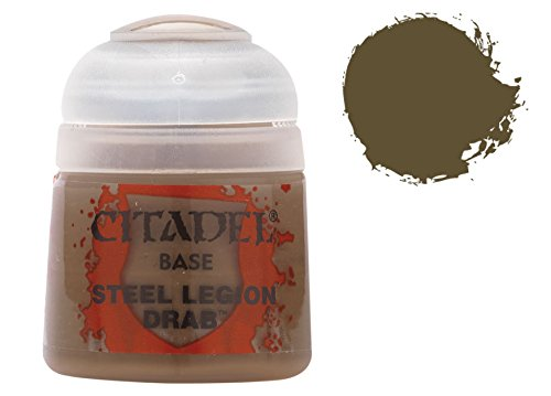Citadel Base: Steel Legion Drab - 1