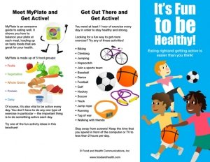 Amazon.com : Kids MyPlate and Physical Activity Brochure - Packet of