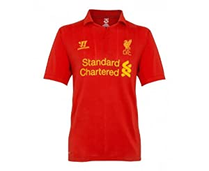 Warrior Liverpool 201213 Adult Home Shirt Red M