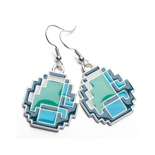 Minecraft - Diamond Earrings by JINX