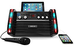 Akai Karaoke KS213 Karaoke Player with iPad Cradle