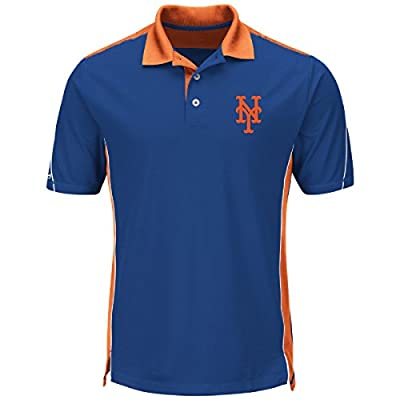"New York Mets Majestic MLB ""To The 10th"" Men's Performance Polo Shirt"