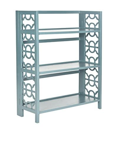 Safavieh Natalie Low Bookcase, Navy