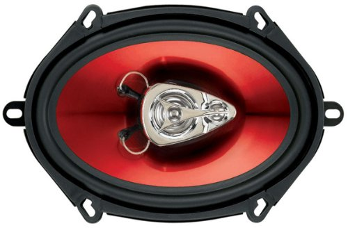 "Boss Audio Ch5730 Chaos Exxtreme 300-Watt 3 Way Auto 5"" X 7"" Coaxial Speaker front-68997"
