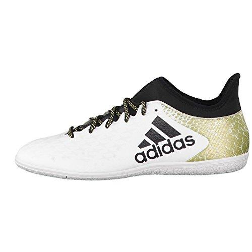 adidas Herren X 16.3 in Fußballschuhe, Blanco (Ftwbla / Negbas / Dormet), 46 2/3 EU -