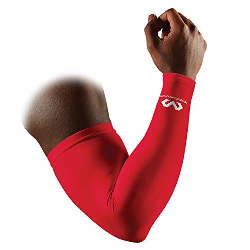 McDavid Scarlet Compression Arm Sleeve, large