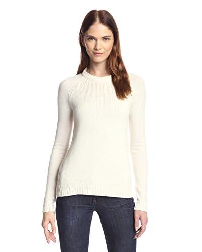 Kier & J Women's Chunky Baseball Sweater