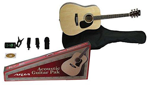 ARIA Kit Chitarra acustica AGPN-003