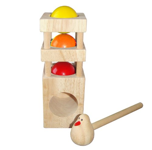 Discoveroo Wooden Bird Smackeroo Playset