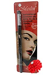 Meilin Waterproof Diamond Gel Kohl Kajal & Eyeliner Pencil
