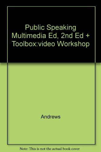 Public Speaking Multimedia Ed, 2nd Ed + Toolbox:video Workshop