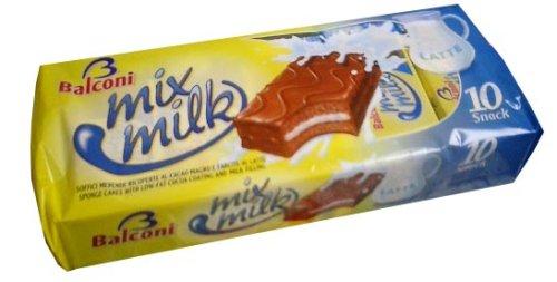 Mix Milk Snack Cakes (Balconi) 10pk (350g)