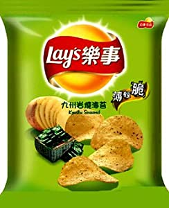 Lay's Kyushu Island Japanese Seaweed Flavored Potato Chips 1.58oz
