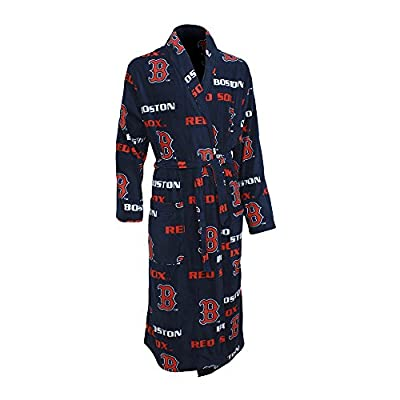 MLB Teams 2015 Facade Mens Fleece Robe (One Size)