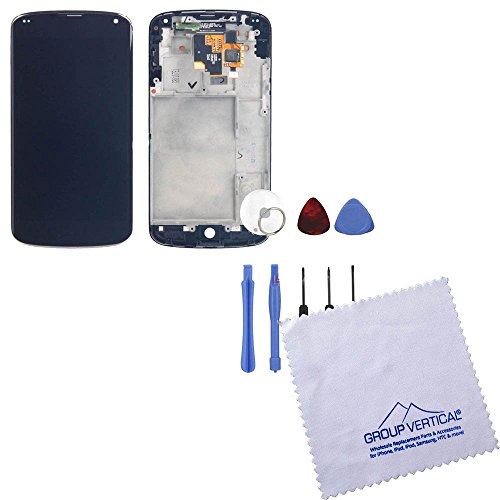 Touch Screen Digitizer + Lcd Assembly W Frame For Lg Nexus 4 E960 + Tools
