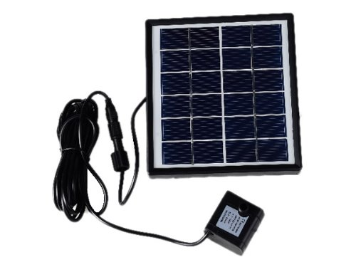 6V 1.5W Solar Powered Panel Water Fountain Pump for Pond Fish Tank