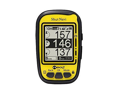 ショットナビ(Shot Navi) ゴルフナビ GPS ネオ2 イエロー 日本プロゴルフ協会推奨 SN-NEO2