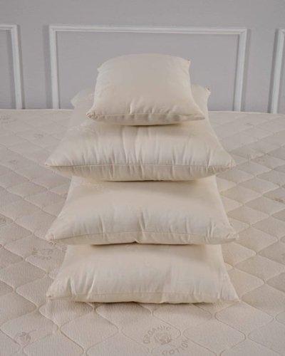 Bio Sleep Concept Organic Wool Medium Firmness Queen Size Pillow front-558191