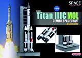 Dragon Models 1/400 Titan IIIC MOL Gemini Spacecraft with Launch Pad