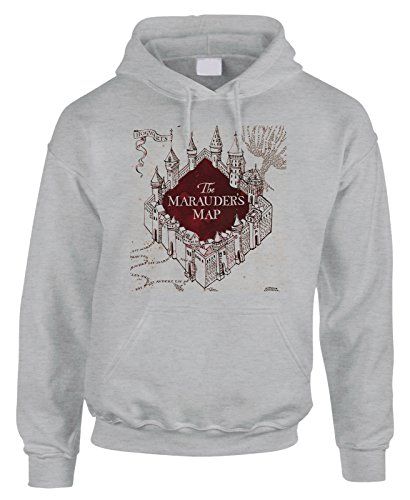 Felpa con cappuccio The Marauder's Map Harry Potter Hogwarts School of Witchcraft and Wizardry
