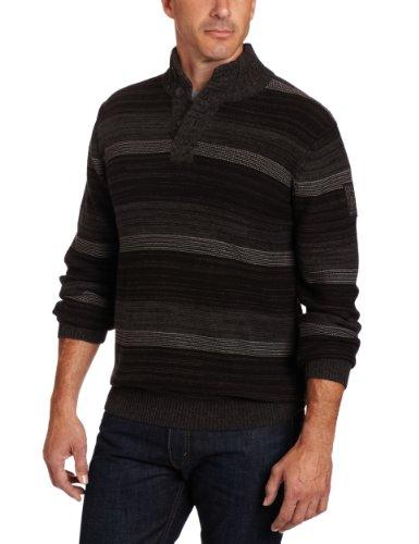Calvin Klein Jeans Men's Long Sleeve Stand Collar Sweater