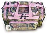 Mossy Oak Pink Camouflage Duffle Bag 20