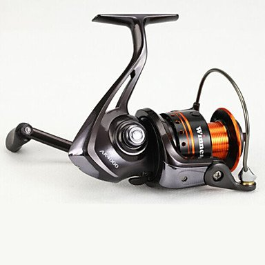 Aluminum Fishing Spinning Reels 10+1 BB Ball Bearing High Speed 5.2:1 LJ2000