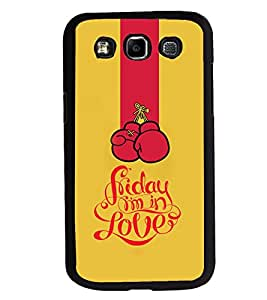 Fuson 2D Printed Love Designer back case cover for SAMSUNG GALAXY E7 E700 - D4625