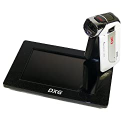 DXG USA DXG-5D7V Pocket 3D Camcorder and 3D Media Player Bundle