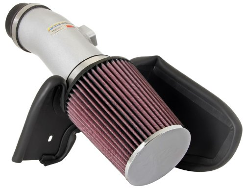 K&N 69-1210TS 69 Series Silver Typhoon Air Intake