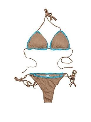 4giveness Bikini (Camel / Turquesa)