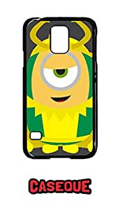 Caseque Minion Loki Back Shell Case Cover for Samsung Galaxy S5